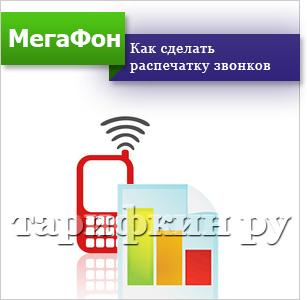 Как сделать детализацию звонков мегафона через интернет 325