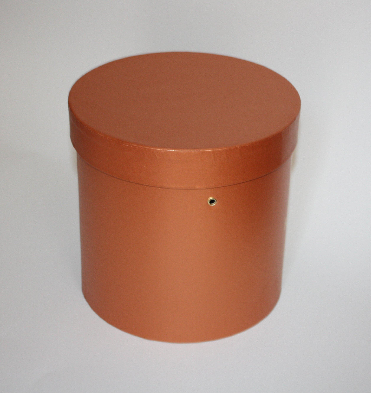 Как сделать крышку для коробки круглую 24
