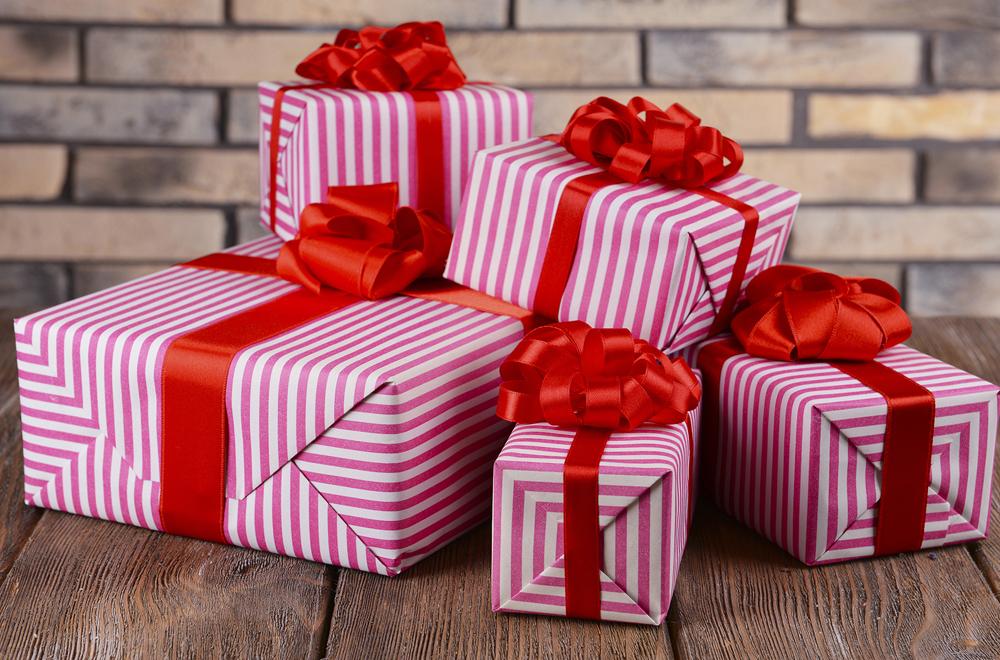 Не обычное вручение подарка