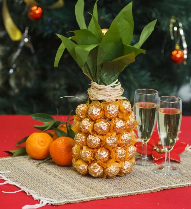 поздравления к подарку шампанское и ананасами своим рождением свет