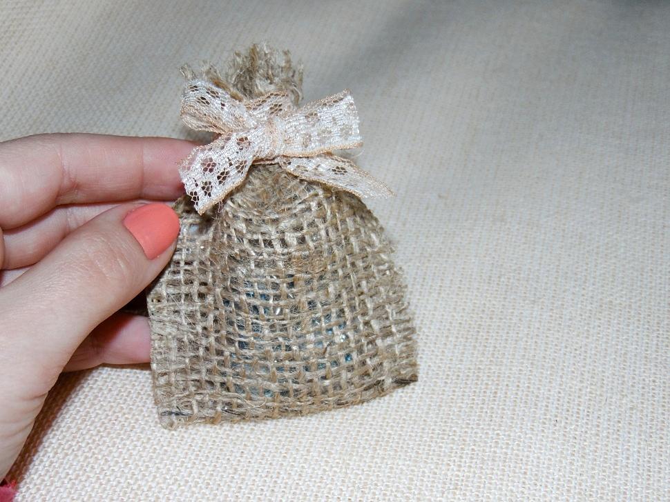 Как сшить мешочек из мешковины своими руками пошагово