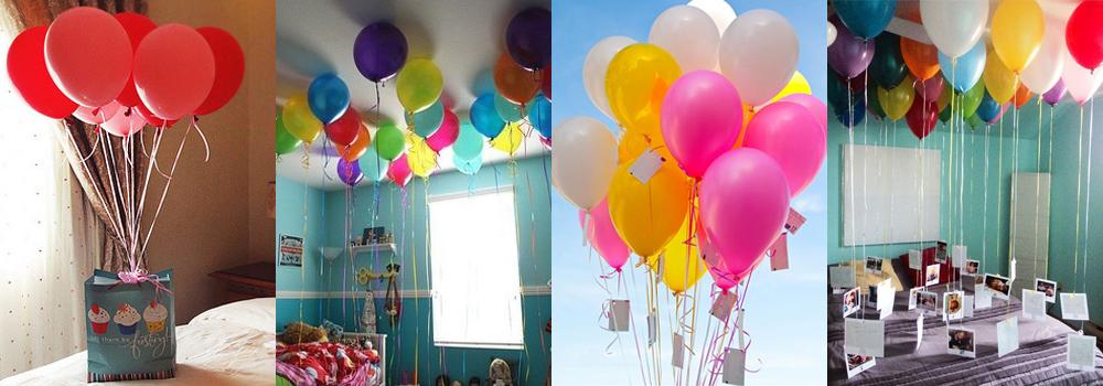 Поздравления воздушными шарами