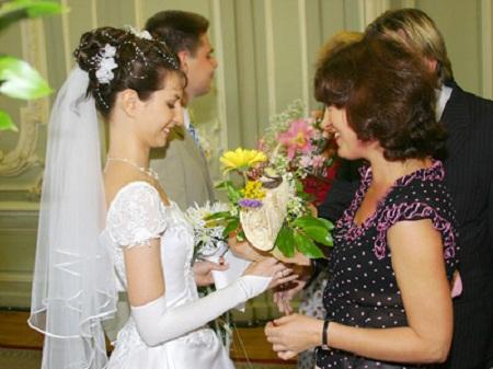 Поздравление от мамы жениха в загсе