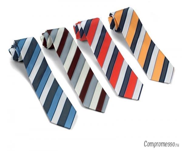 Как завязать галстук схема в картинках