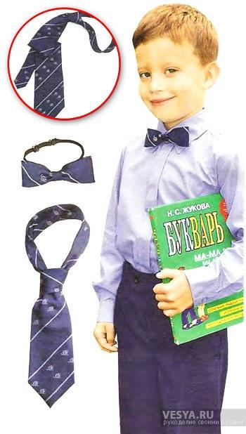 Как сшить галстук сыну 25