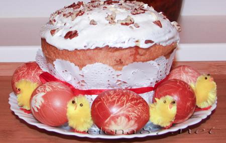 Фотогалереи: Пасхальный заварной кулич - кулинарный рецепт (Фотогалереи)