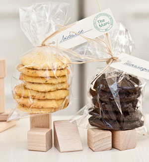 Подарочная упаковка печенья