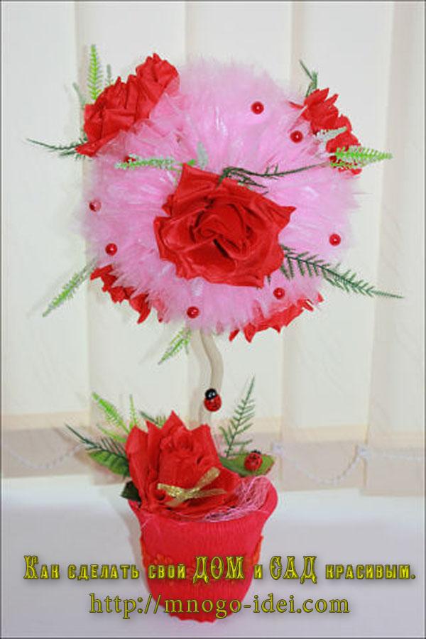 Искусственные цветы своими руками фото 788
