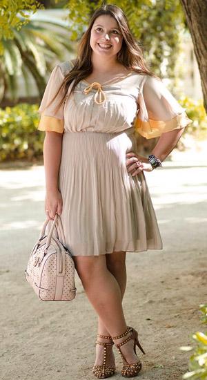 Фото пышек в коротких платьях
