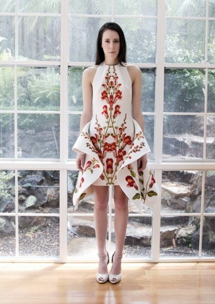Как сшить платье из купонной ткани фото