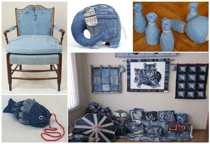 187273e6c598 Что можно сделать из старых джинсов? - смотреть видео (видео)