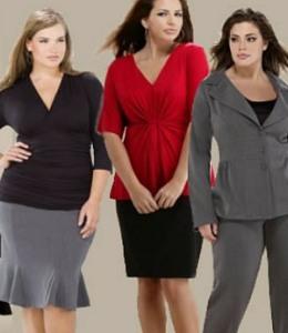 Офисная Одежда Для Полных Женщин Фото