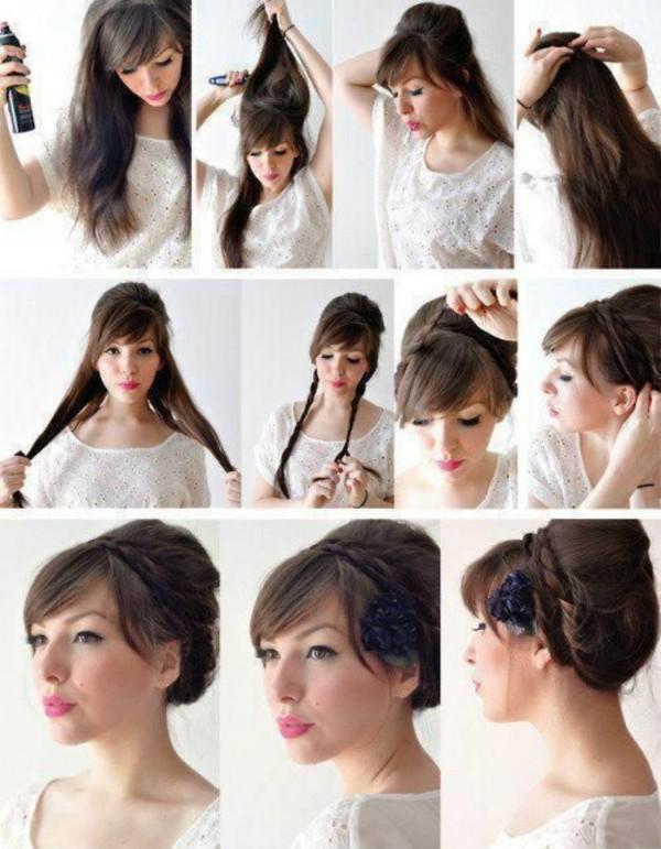 Смотреть причёски на волосы средней длины