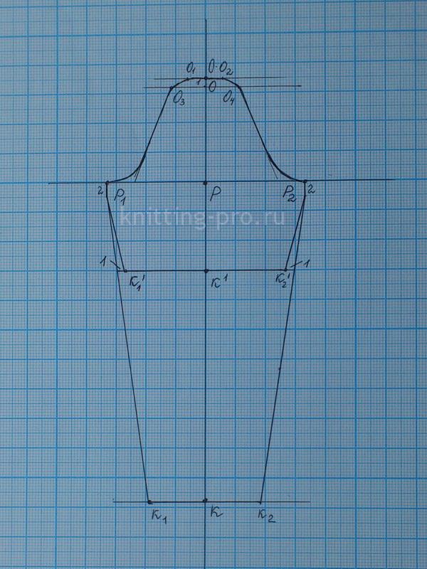 c5b75b69225 Построение упрощенной выкройки-основы вшивного рукава на женскую фигуру