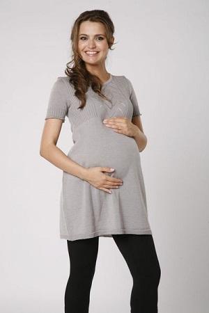 вязание спицами для беременных