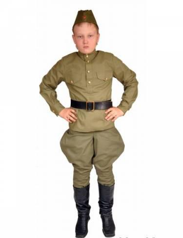 Как сшить костюм военного для мальчиков