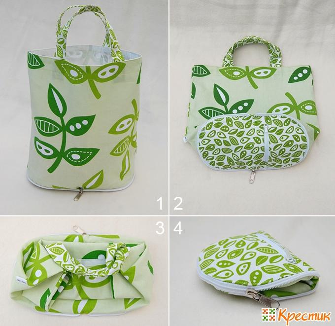 fbe13a33761d Стильные и удобные сумки из ткани своими руками: мастер-класс по пошиву