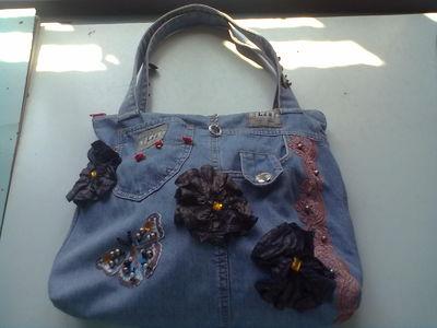 d6a47c834c62 Модные в 2013 году джинсовые сумки